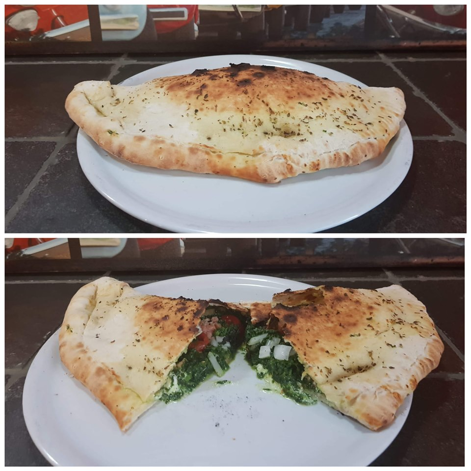 Pizza calzone spéciale