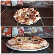 La pizza double
