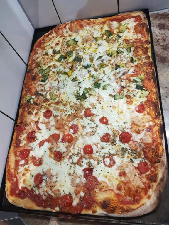 Nos platines de pizza
